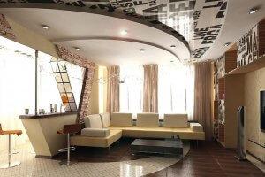 Многоуровневые натяжные потолки в Севастополе